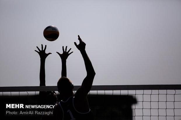 تیم والیبال ساحلی ب از صعود به فینال تور آسیایی بازماند