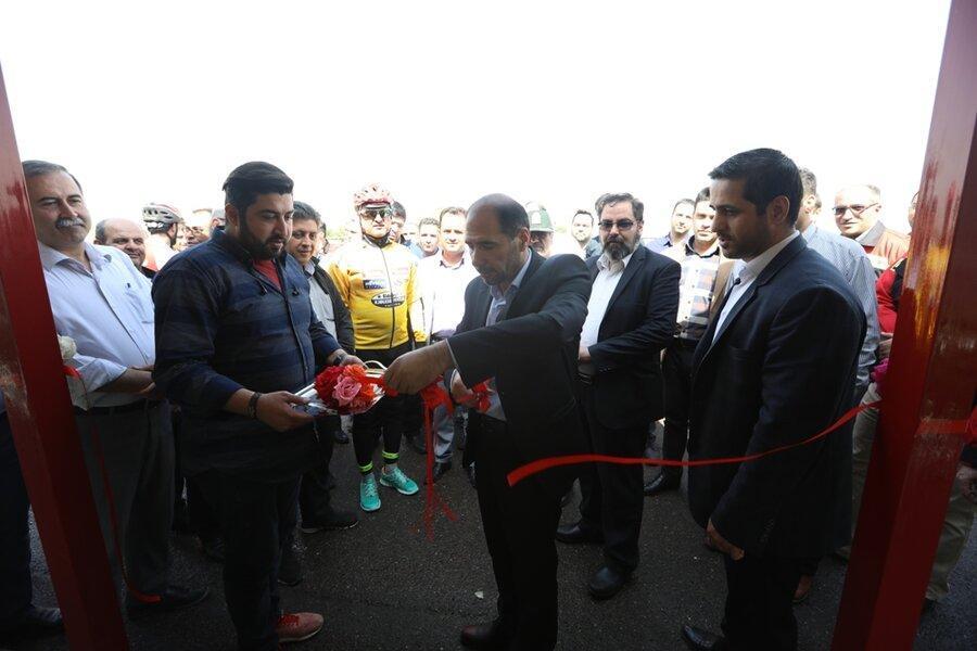 اجرای طرح راستا دوچرخه سواری در پایانه فتح آباد