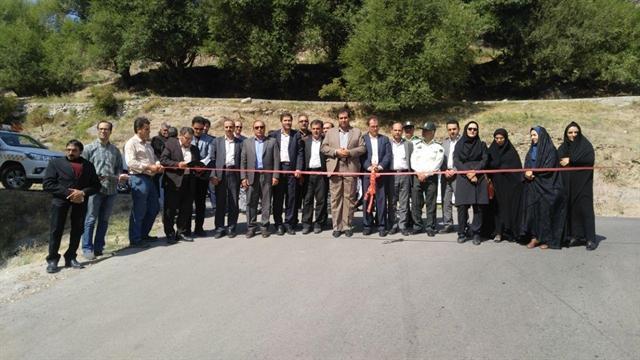 افتتاح فاز نخست جاده گردشگری خیاو ـ گردولی در مشگین شهر