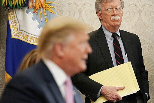 جان بولتون به دنبال وزارت خارجه آمریکا