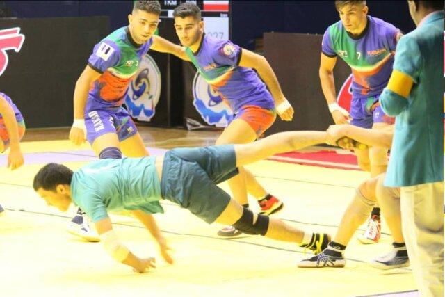 دومین پیروزی ایران در رقابت های کبدی جوانان دنیا