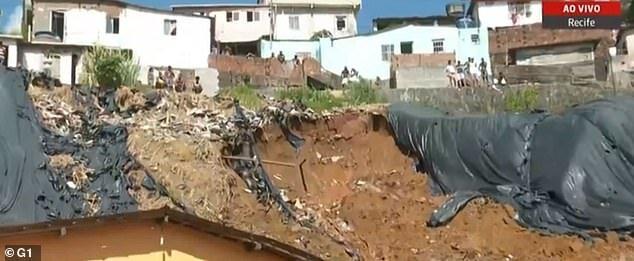 10 کشته و زخمی در حادثه رانش زمین در برزیل