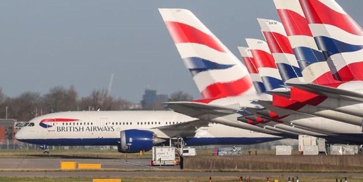 بریتیش ایرویز صدها پرواز خود به اروپا و آمریکا را به دلیل کرونا لغو کرد