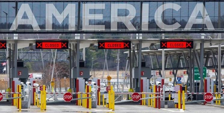 ادامه محدودیتهای تردد مرزی آمریکا با کانادا و مکزیک از بیم کرونا