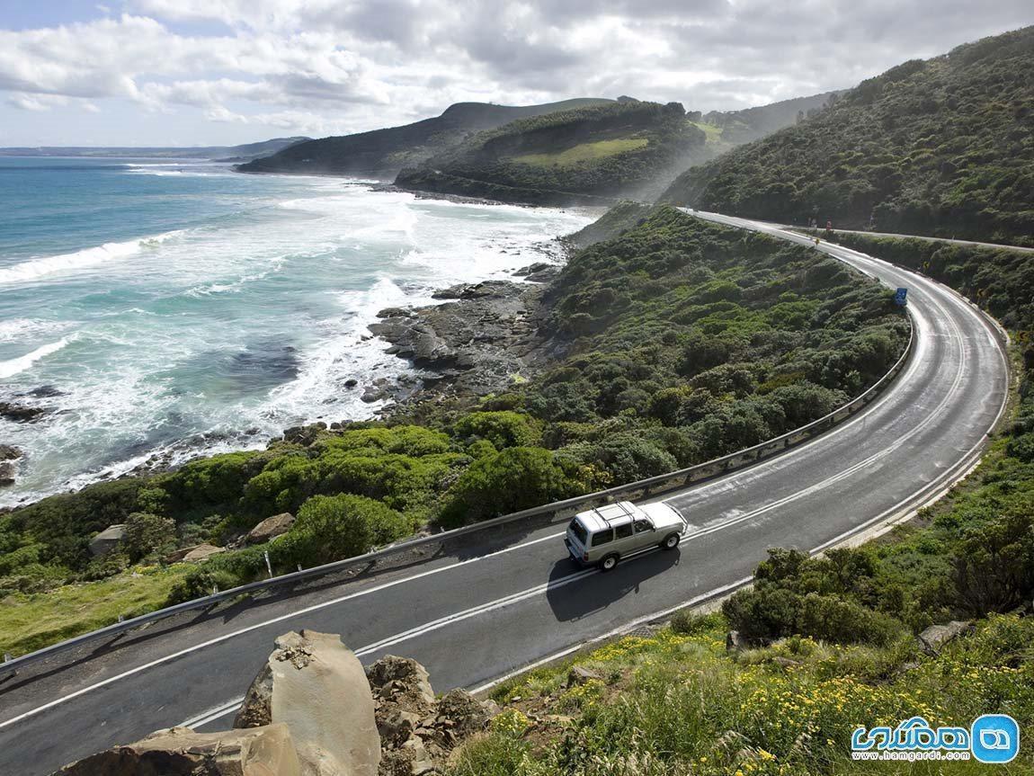 جاده عظیم اقیانوسی؛ جاده ای شگفت انگیز در استرالیا