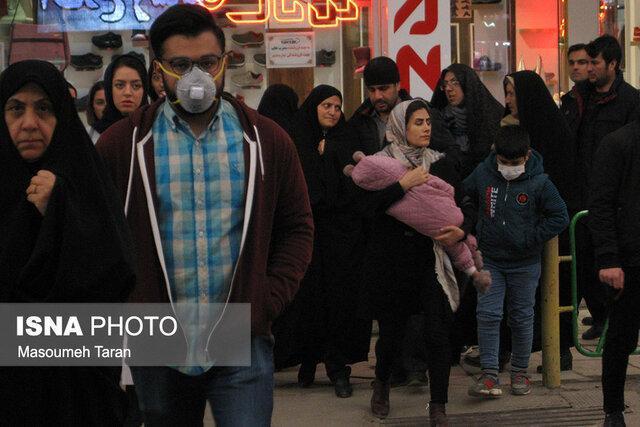 کاهش محسوس استفاده از ماسک توسط زنجانی ها
