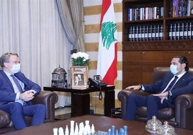 لبنان، ملاقات فرستاده ماکرون با سعد الحریری