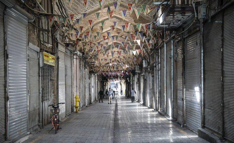 بازار بزرگ تهران 2 هفته تعطیل است