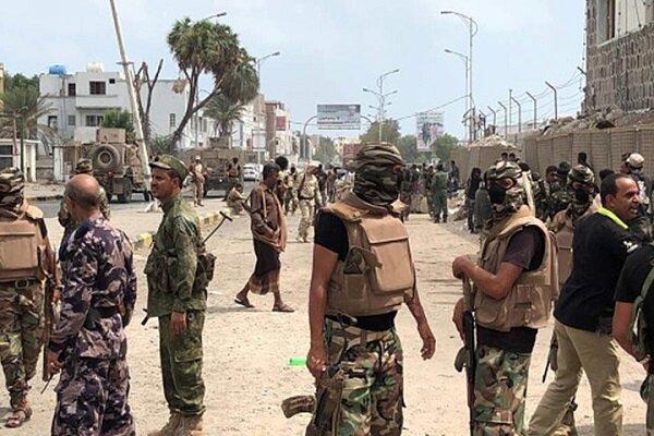 درگیری ها میان مزدوران عربستان و امارات در یمن