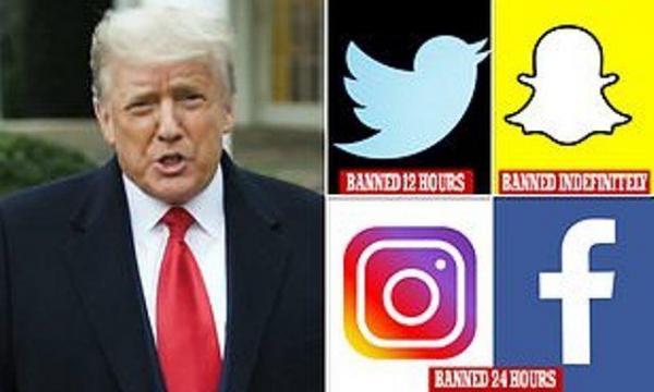 ترامپ، رییس جمهور مطرود در شبکه های اجتماعی