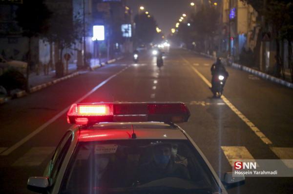 جریمه بیش از 83 هزار خودرو در شب گذشته