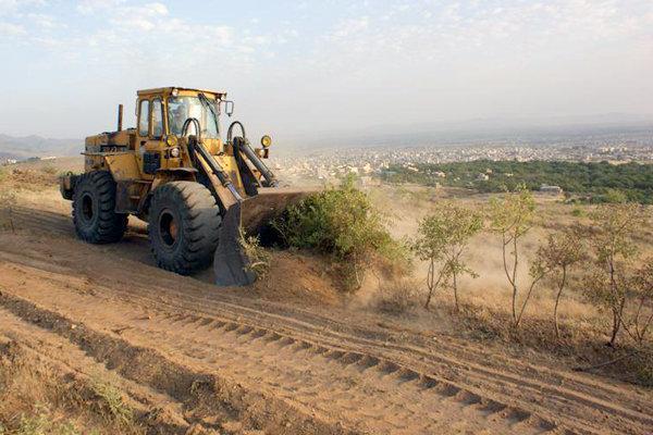 رها سازی 125 هکتاراراضی ملی در بندرعباس