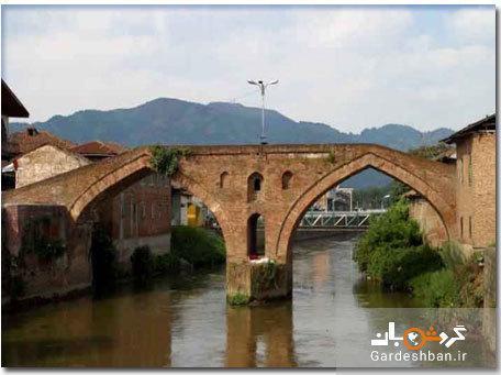 پل خشتی لنگرود؛ یادگار دوران قاجار در شمال کشور، عکس