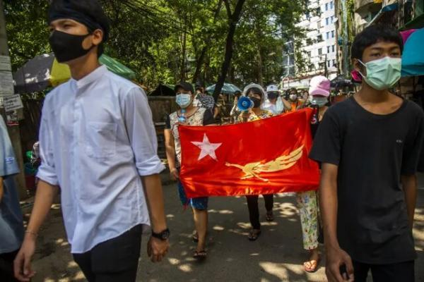 تاکید آمریکا بر لزوم اعمال تحریم تسلیحاتی و تحریم ارتش میانمار