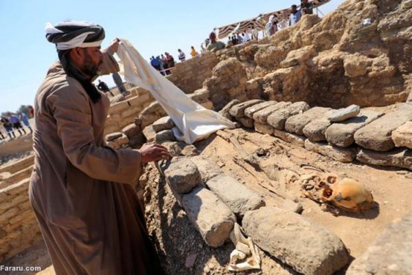 (ویدئو) کشفیات جدید در بزرگترین شهر باستانی مصر