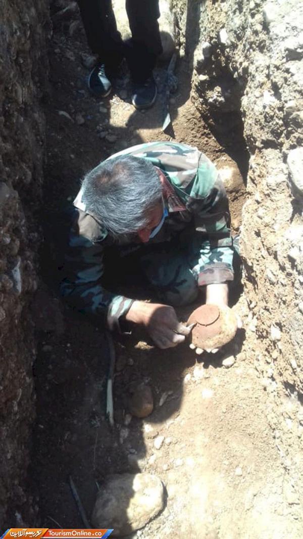 کشف گور 3 هزار ساله در منطقه چیتاب