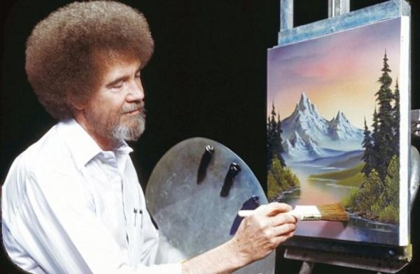 (تصاویر) نقاشی های باب راس کجاست؟
