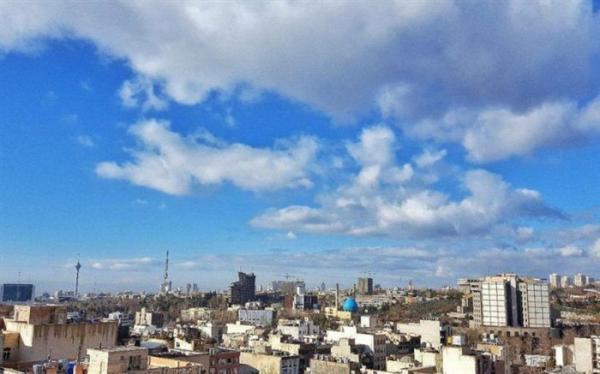 افزایش غلظت آلاینده اُزن در بعضی مناطق تهران