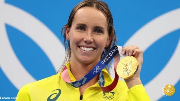 دختر استرالیایی در شنا تاریخ ساز شد