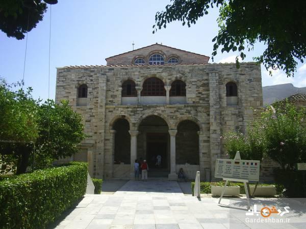 جاذبه گردشگری جالبی به نام کلیسای 100 در یونان